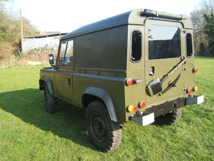 Landrover 90 Hard Top RHD 2 Ex Army