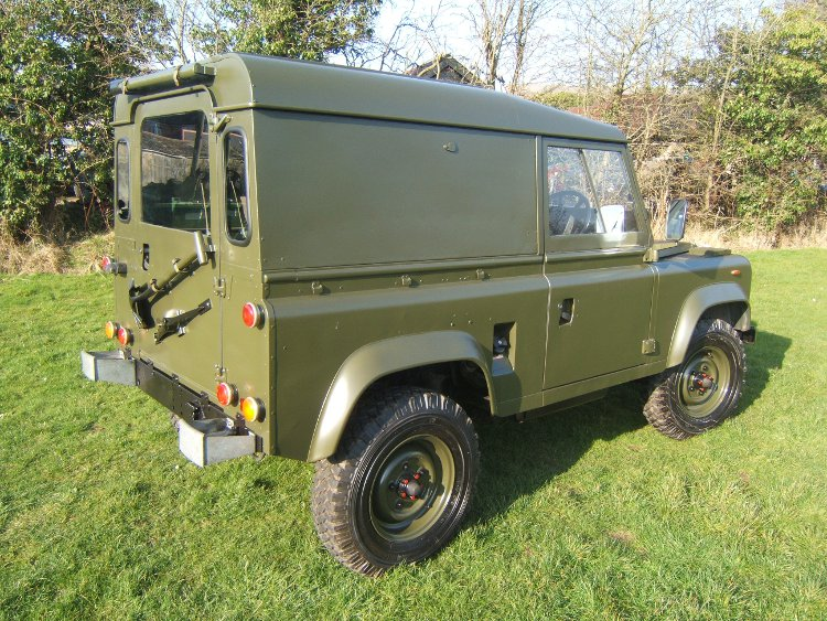 Landrover 90 Hard Top RHD Ex Army