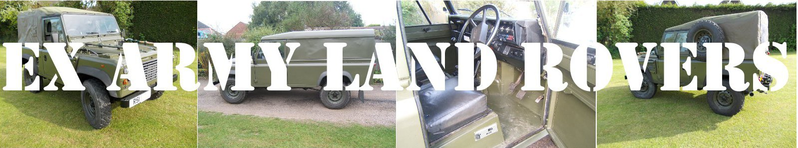 Ex Army Land Rovers